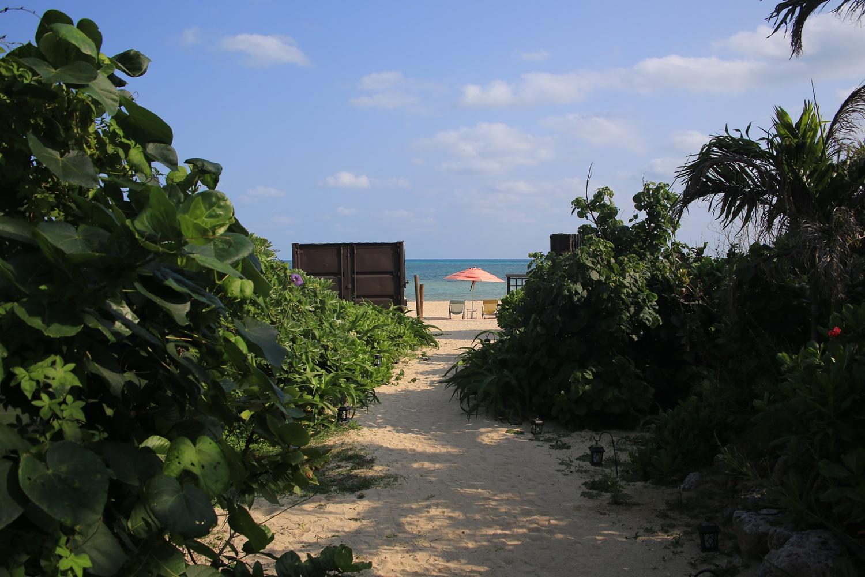 星野リゾート リゾナーレ小浜島 プライベートビーチ risonare_kohamajima