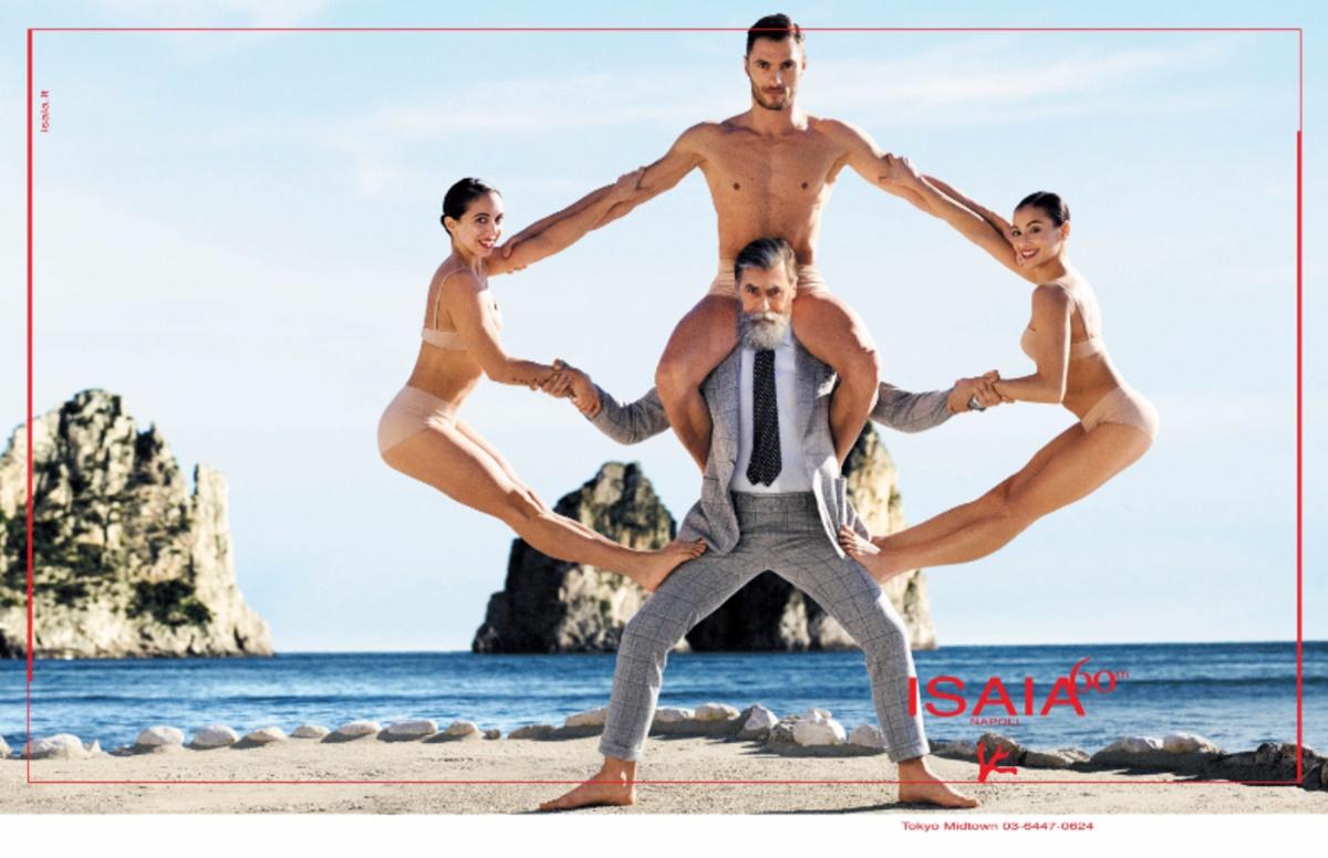 ISAIA イザイアの広告