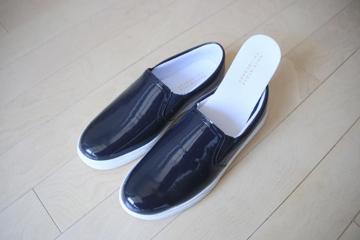マッキントッシュフィロソフィー - 三陽商会 レインシューズ スリッポン ローファー MACKINTOSH_PHILOSOPHY_rain_shoes (1)