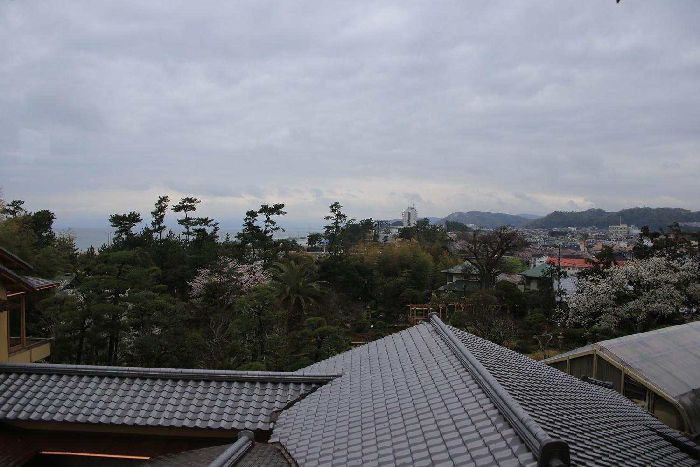 旧吉田茂邸 大磯 shigeru_yoshida_residence (1) 富士山方面眺め
