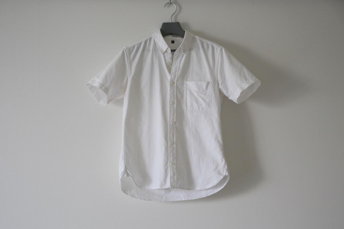 MUJI 無印良品 白オックスシャツ