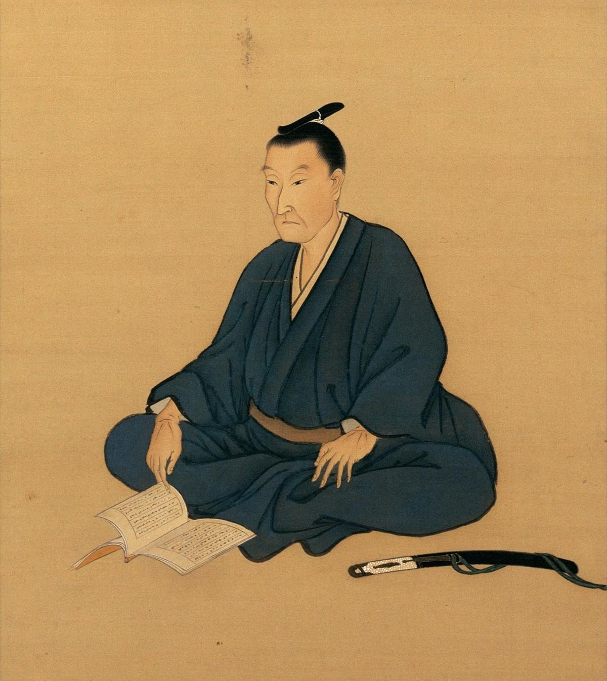 Yoshida_Shoin 吉田松陰像(山口県文書館蔵)