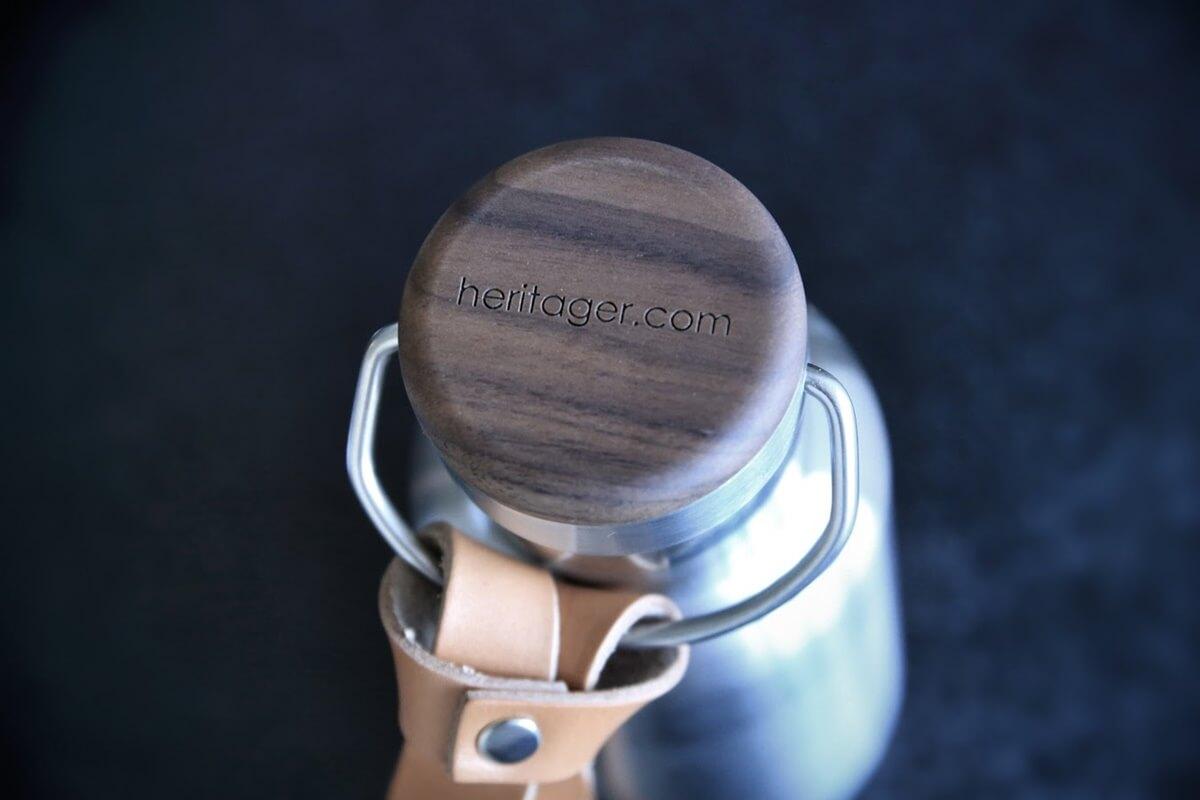 +LUMBER 木製水筒・タンブラー・サーモボトル THERMO BOTTLE 350ml