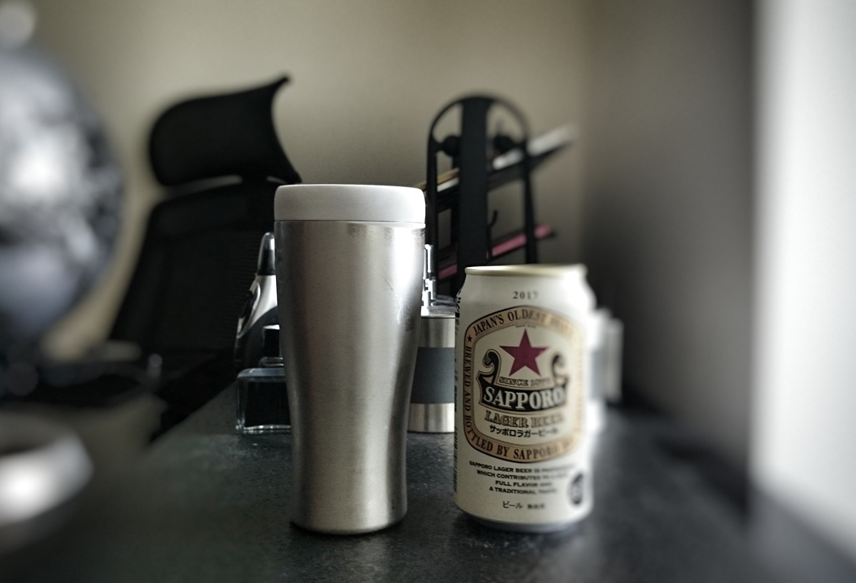 ビールをキンキンに冷やす最強ビールタンブラー。