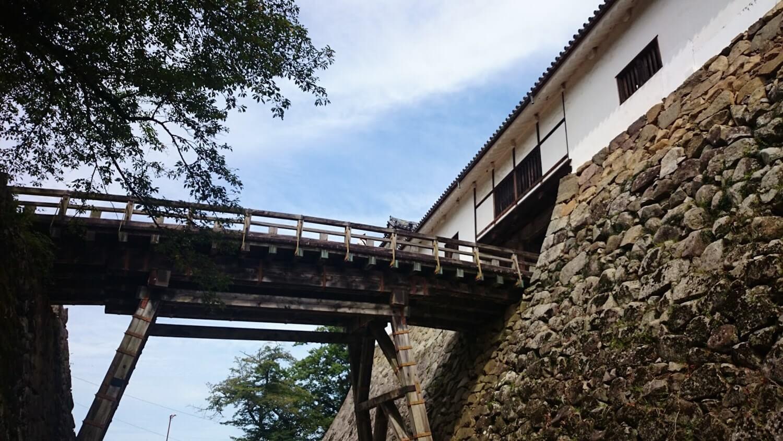 国宝 彦根城 廊下橋 天秤櫓