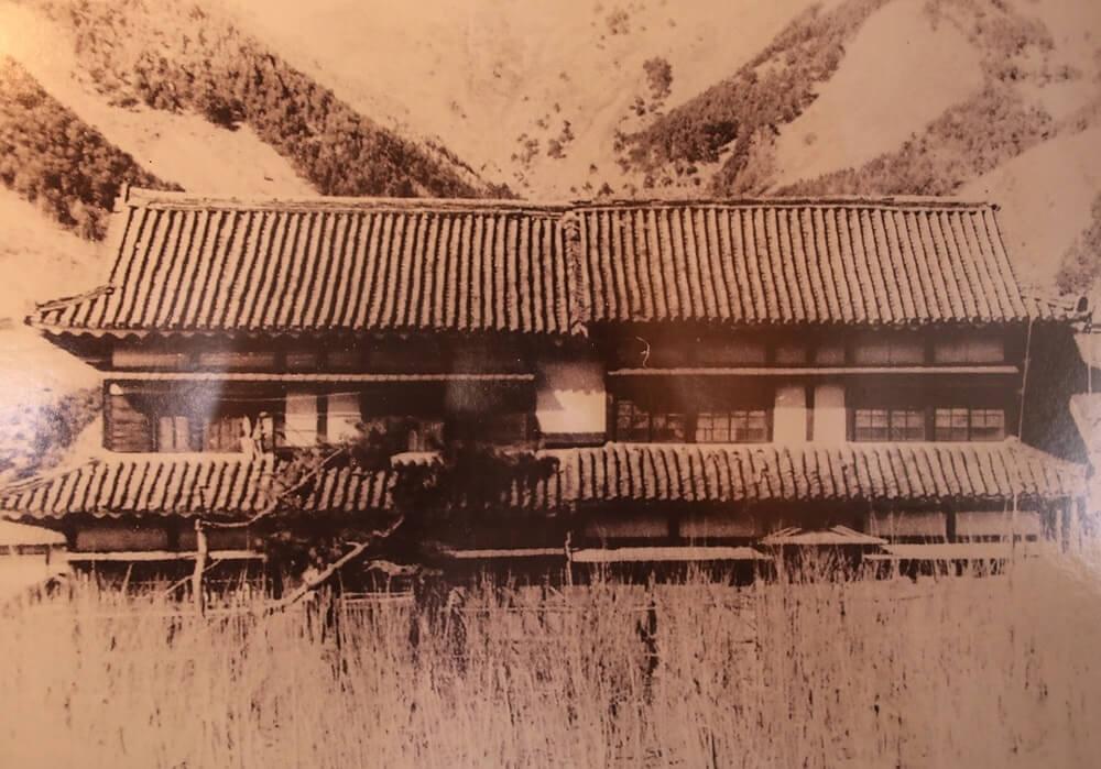 昭和19年 遊郭の建物になっていた北櫓と南櫓