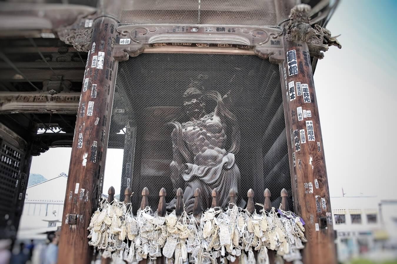 信州善光寺 吽形像