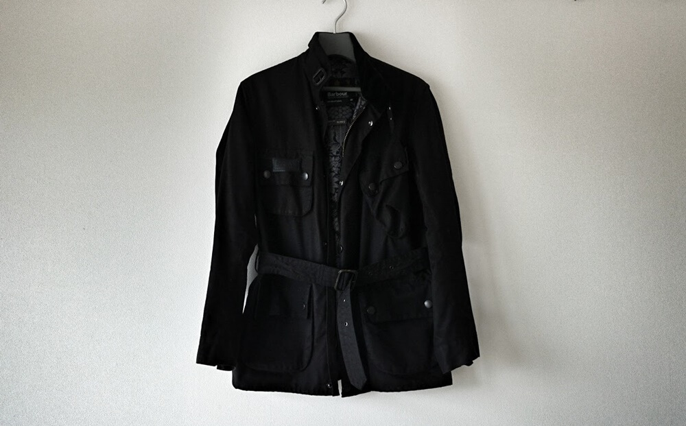 祝6年!Barbour International Jacket BEAMS F Exclusive