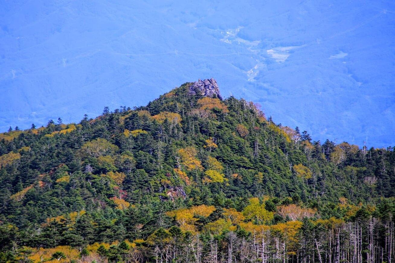 絶景の北八ヶ岳 にゅう
