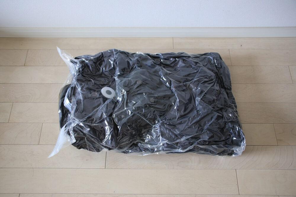 DUVETICAのダウン衣類圧縮袋からの復活。