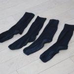 UNIQLO靴下7年生存達成。