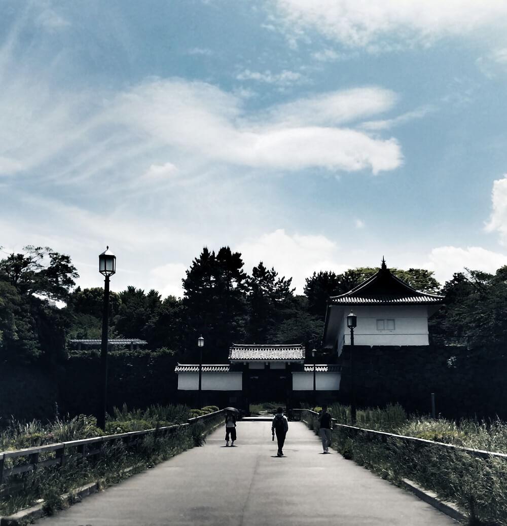 清水門 江戸城