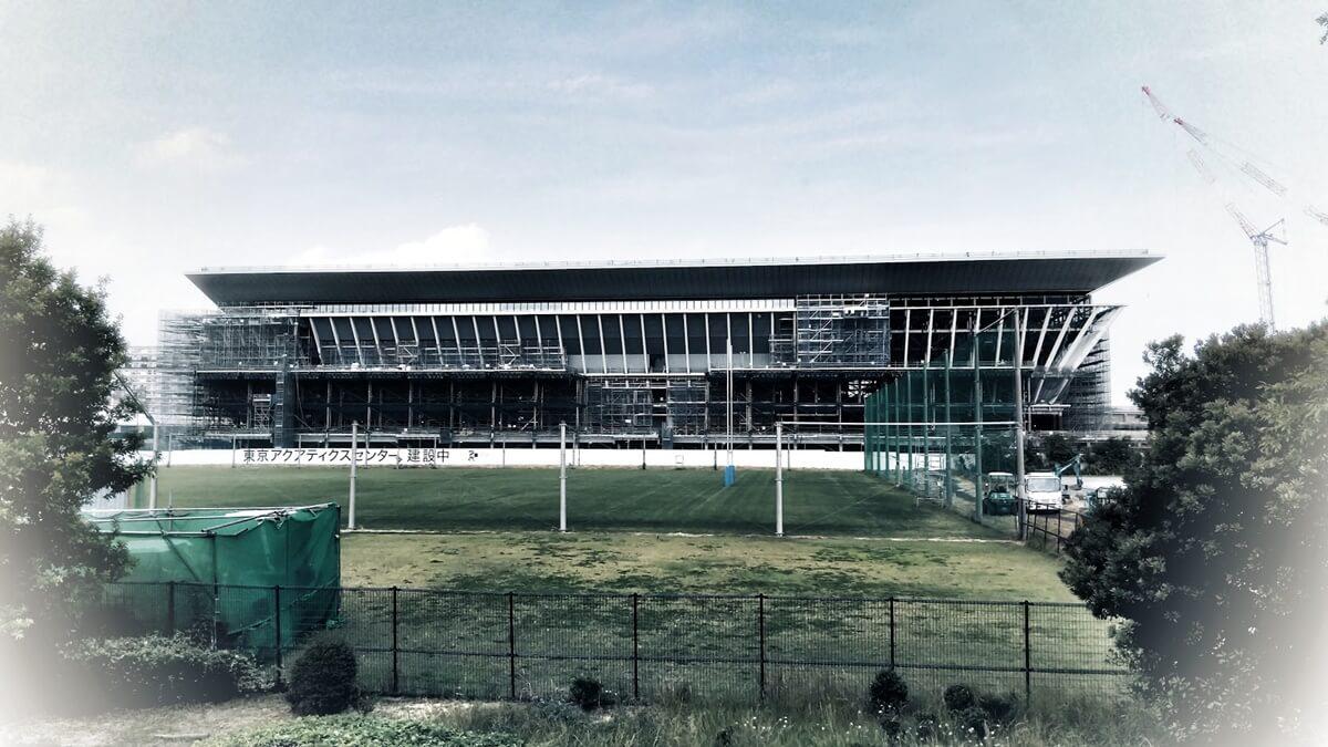 東京アクアティクスセンター 東京五輪 オリンピックアクアティクスセンター