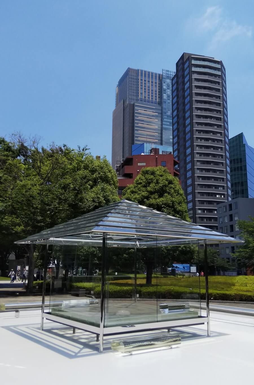 光庵 ガラスの茶室 吉岡徳仁 国立新美術館