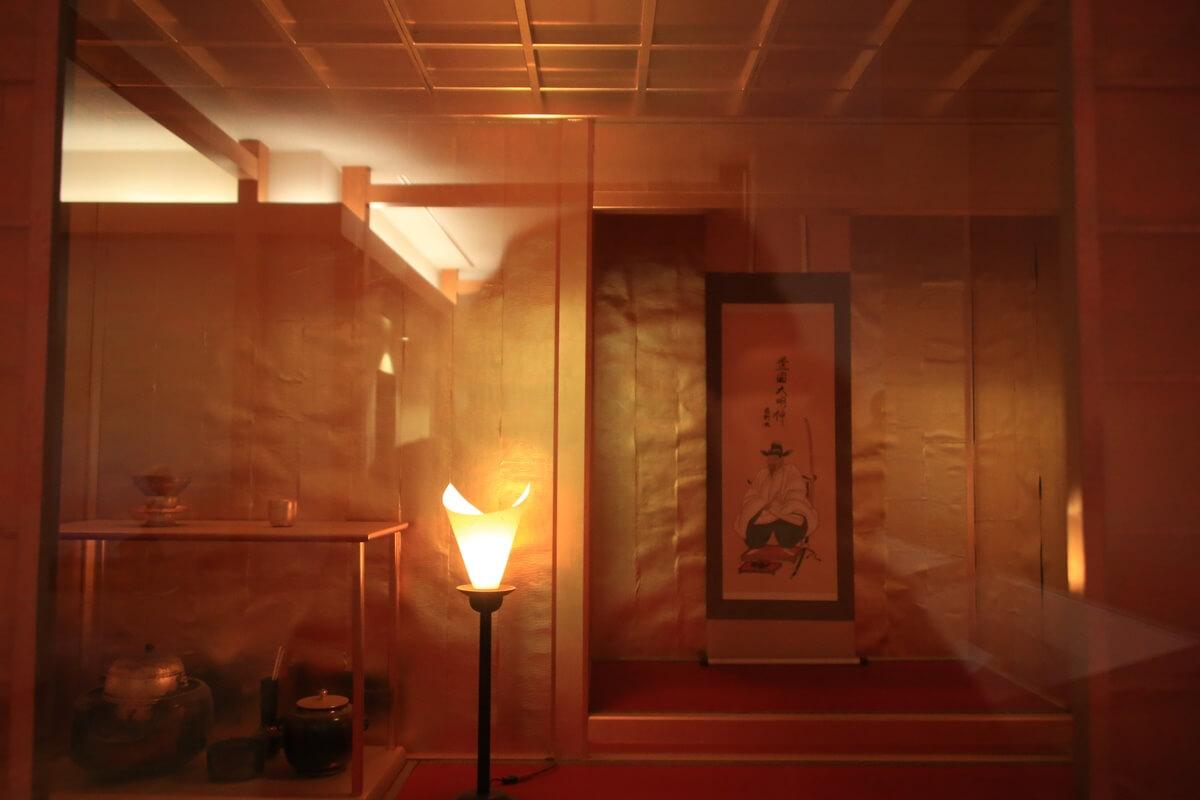 大阪城 黄金の茶室 豊臣秀吉 千利休