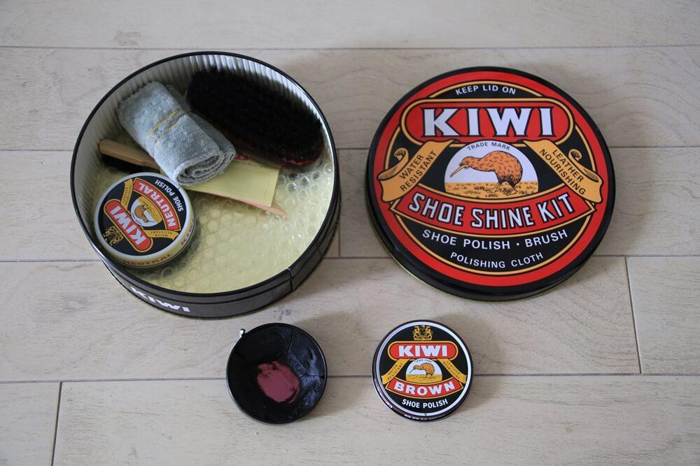 kiwi 靴クリーム