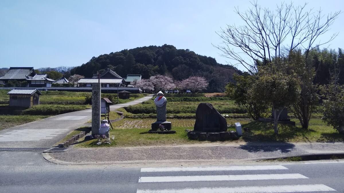 聖徳太子 厩戸皇子生誕の地