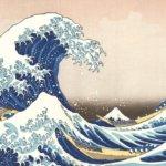 神奈川沖浪裏の謎。