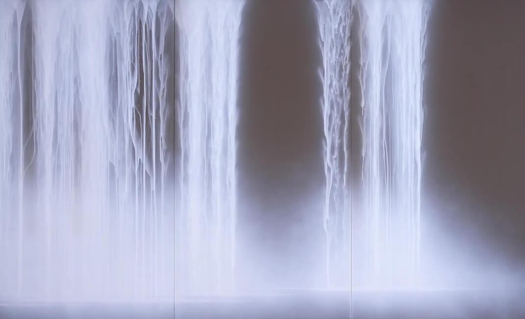 千住博 松風荘襖絵習作 2006(平成18)年 山種美術館蔵