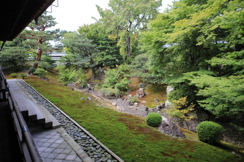 裏方丈庭園 枯滝石組