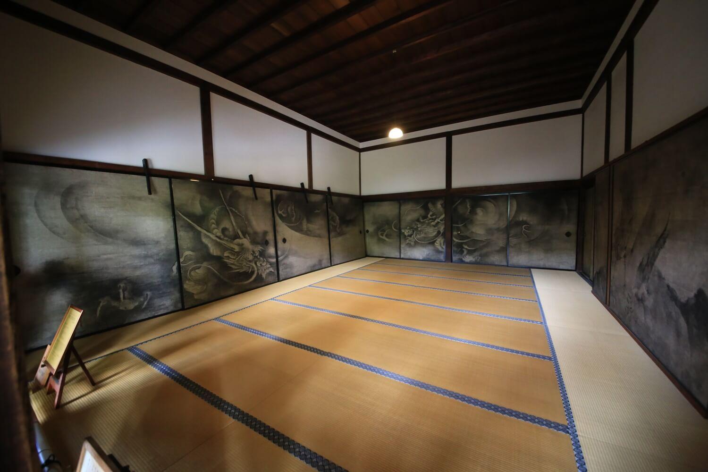 京都・建仁寺 方丈障壁画 雲竜図 海北友松