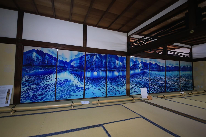 京都・建仁寺 鳥羽美花 襖絵