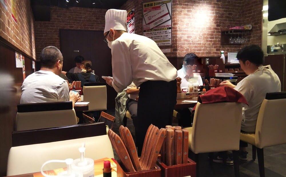いきなりステーキ銀座店