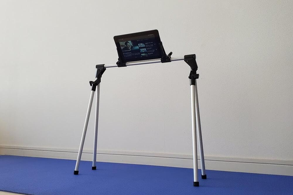 JM-KJ001 最新型 タブレットスタンド 0-12.9インチ対応 スマホスタンド ipad ホルダー 折りたたみ式 360°回転 軽量 卓上スタンド Fire HD 8 7 10 Huawei MediaPad Lenovo Tab P10 ipad mini iPad air等に対応