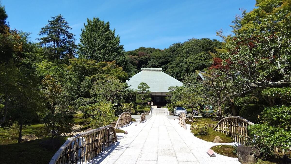 鎌倉 稲荷山 浄妙寺