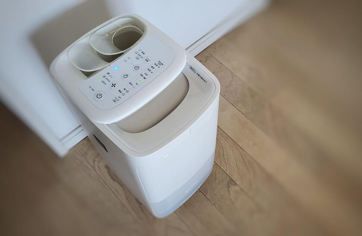 Sharp / シャープ プラズマクラスター搭載ハイブリッド式加湿機 加湿方式:過熱気化式加湿器(温風気化式) モデル番号: HV-H55-W
