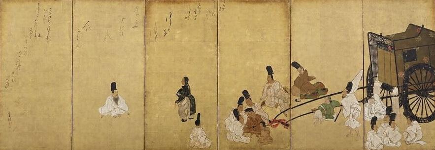 関谷図屏風