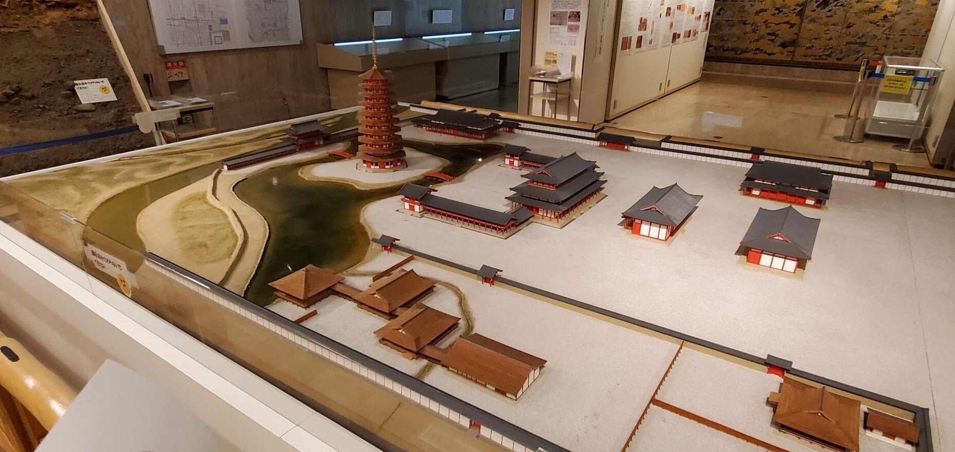 平安京創生館 法勝寺復元模型