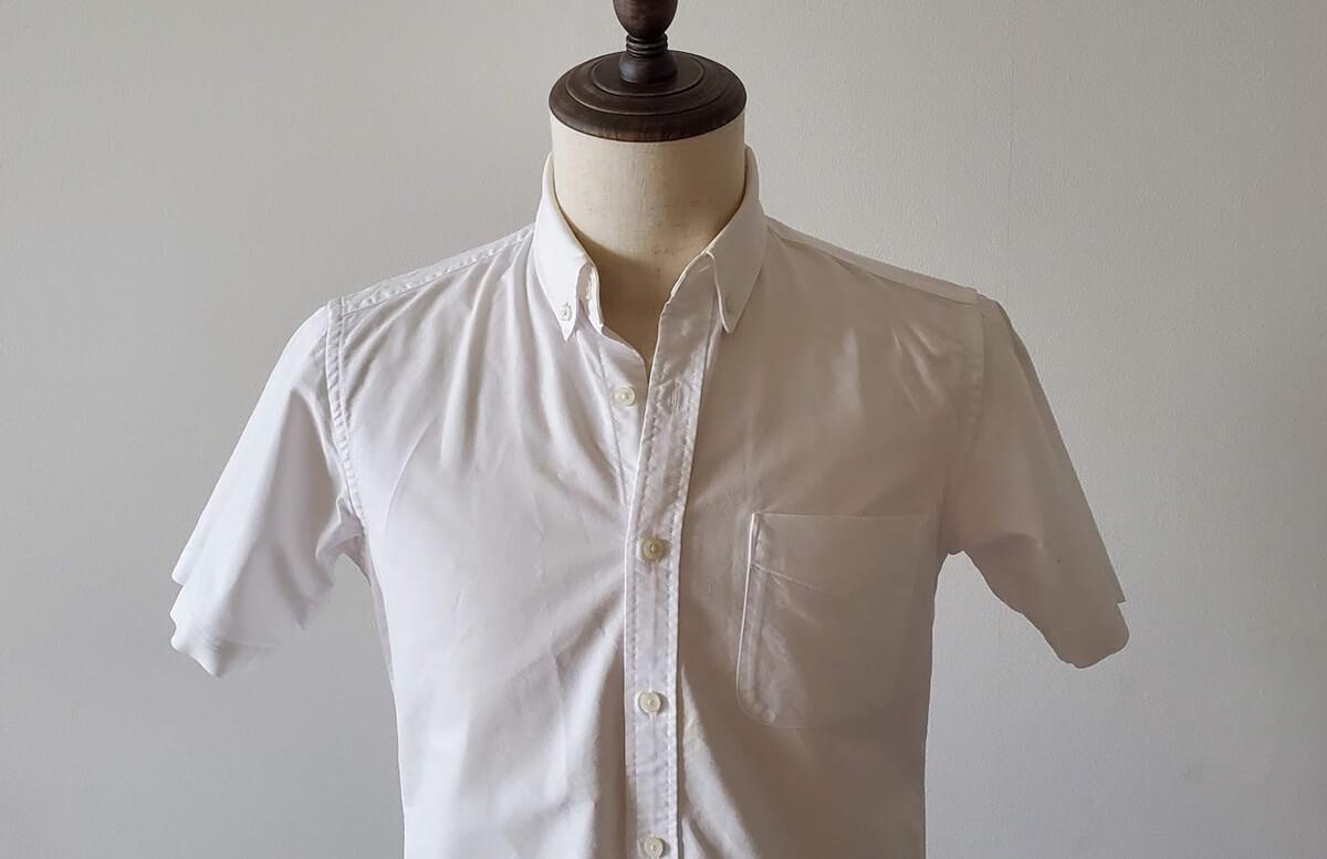無印良品 オックス半袖シャツ