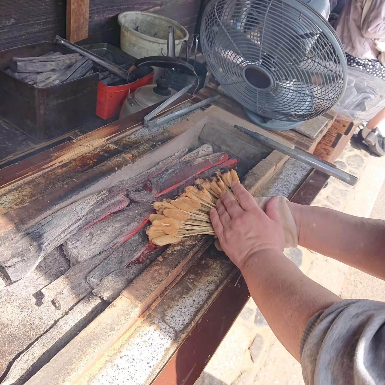 今宮神社 一文字屋いち和 あぶり餅