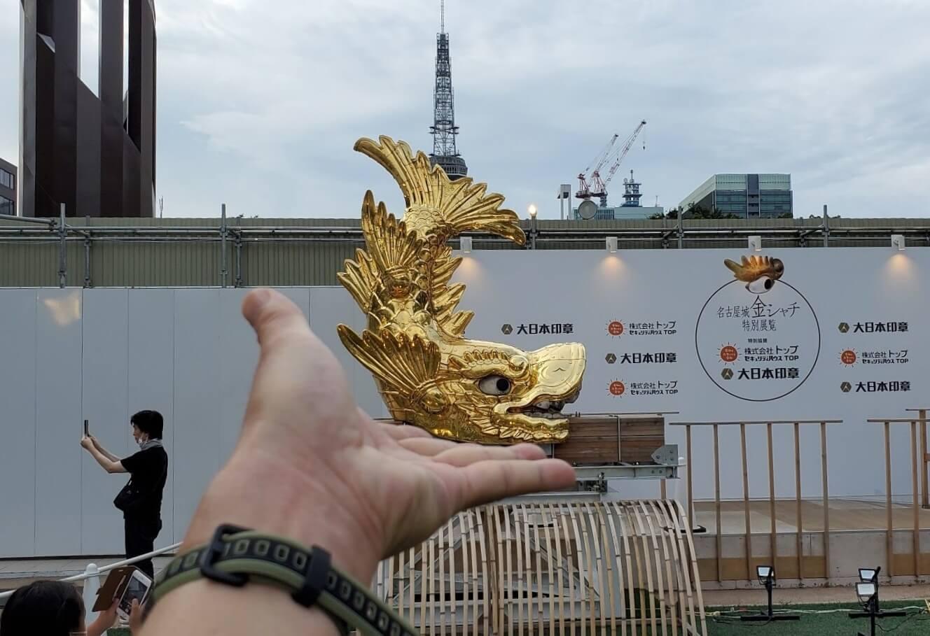 名古屋城・金鯱