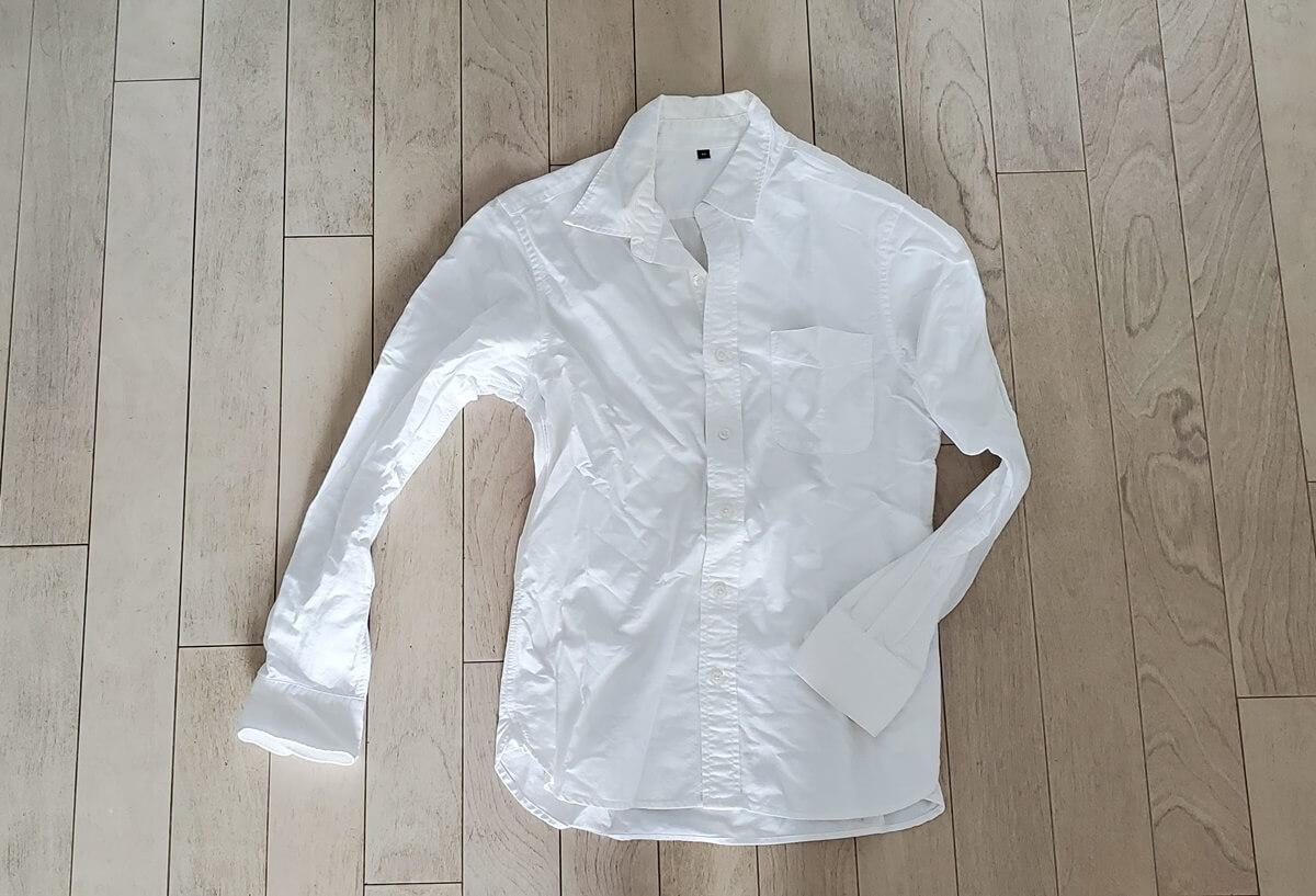 無印良品 オックス長袖シャツ