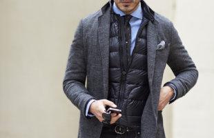 ダウンベストをINしてジャストサイズのジャケットは着れるのか?