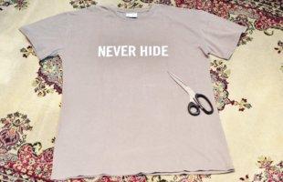 CAMILLE 要らなくなったTシャツの再利用方法