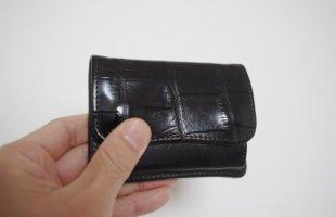 ワイルドスワンズ クロコ小銭入りwildswands croco purse