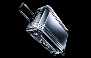 ゼロハリバートン スーツケース Zero Halliburton Geo Aluminum