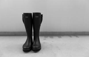 ルシャモー ラバーブーツ メインテナンス方法 Le Chameau rabber boots (5)