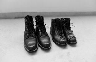 丸3年経過した安藤製靴のブーツを我流メインテナンス。