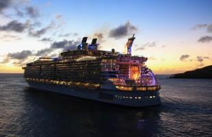 世界最大級の超大型豪華客船クァンタム・オブ・ザ・シーズが日本にやってくる。