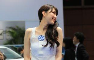 東京モーターショー2015 フォルクスワーゲン コンパニオン Tokyo_motor_show_2015_volkswagen (5)
