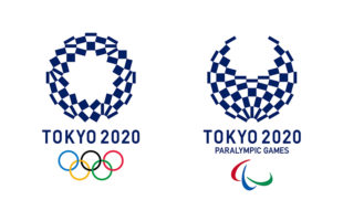 東京2020大会エンブレム 決定作品 組市松紋