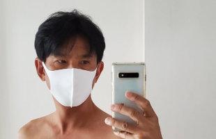 東京 西川 日本製 洗える 接触冷感 マスク 5枚組